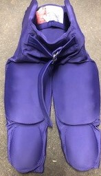 Alleson Integrated purple football pants